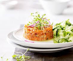 Recette Tartare de saumon
