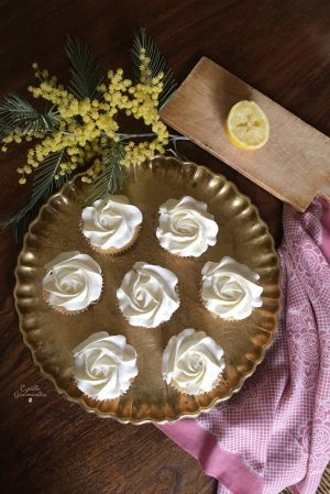 Recette Cupcakes aux deux citrons