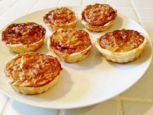 Recette Tartelettes aux oignons