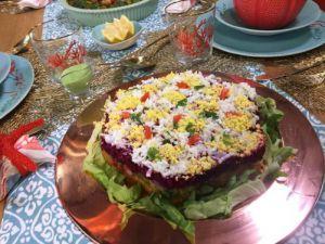 Recette Décor salade algérienne, samira tv