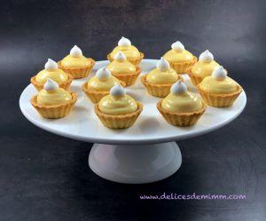 Recette Mignardises au citron pour buffet gourmand
