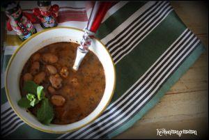 Recette Bob Chorba bulgare , soupe aux haricots et à la menthe