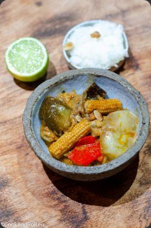 Recette Curry rouge de canard et aubergines
