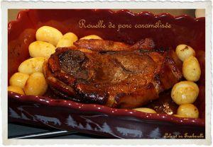 Recette Rouelle de porc caramélisée au sirop d'érable