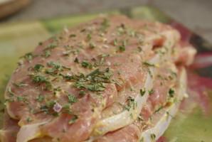 Recette Cotes de porc à la moutarde (cobb)
