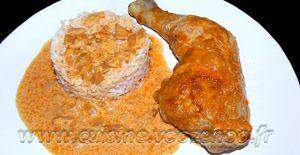 Recette Cuisses de poulet au paprika en papillotes