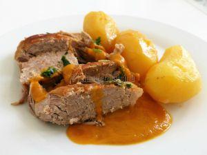 Recette Rouelle de porc en cocotte