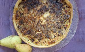 Recette Tarte aux poires et chocolat
