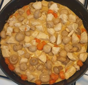 Recette Poulet coco-curry 6pp