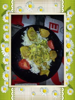 Recette Filet mignon de porc curry coco