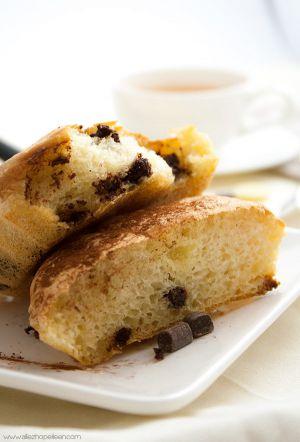 Recette Petits pains briochés aux 3 chocolats