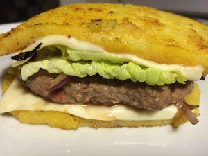 Recette Hamburger de polenta