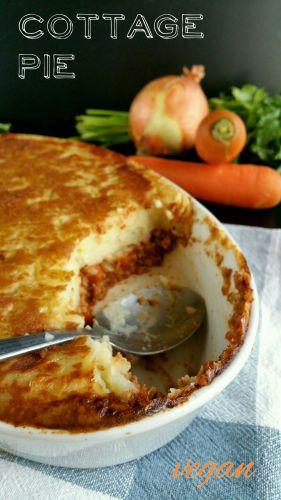 Recette Cottage Pie vegan