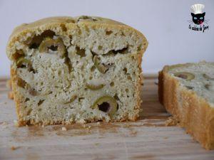 Recette Cake aux olives – Vegan
