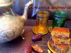 Recette Gâteaux moelleux aux dattes