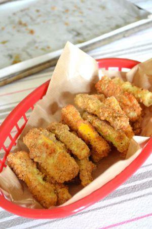 Recette Frites de courgettes