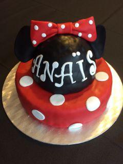 Recette Gâteau d'anniversaire Minnie #3