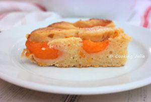 Recette Gâteau aux abricots et fromage frais