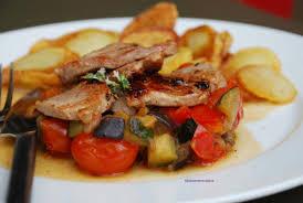 Recette Filet mignon de porc aux légumes