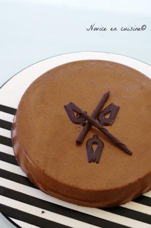Recette Gâteau mousseux au chocolat