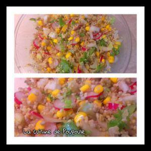 Recette Salade de quinoa aux radis rose