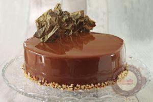 Recette Entremets chocolat caramel