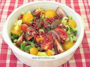 Recette Salade vitamines
