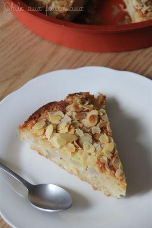 Recette Gâteau poires & amandes