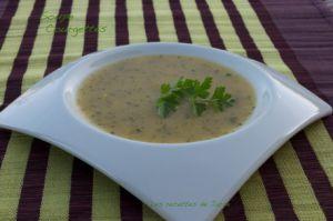 Recette Soupe aux deux courgettes