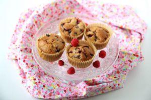 Recette Muffins aux fruits rouges vegan