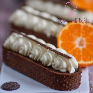 Recette Tartelettes chocolat clémentines