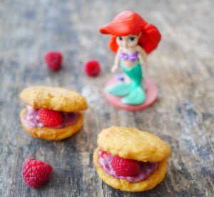Recette Biscuits coquillage, d'Ariel la petite sirène