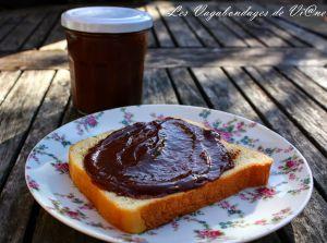 Recette Pâte à tartiner chocolat-banane
