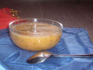 Recette Verrine de gaspacho : melon à l'orientale