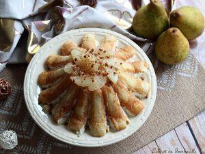 Recette Charlotte aux poires & fromage blanc