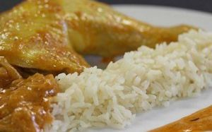 Recette Cuisse de poulet riz