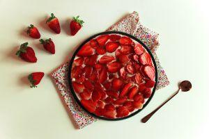 Recette Tarte aux fraises rapide