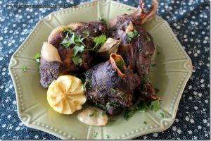 Recette Bouzelouf au four / tête de mouton au four...recette algérienne