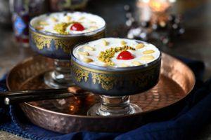 Recette Layali Lubnan (pudding de semoule), Les nuits du liban