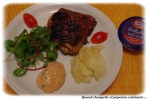 Recette Cuisses de poulet marinees maison