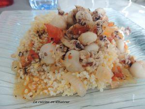 Recette Céréales gourmandes aux fruits de mer