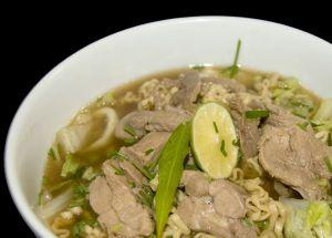 Recette Soupe Peking