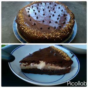 Recette Gâteau chocolat au coeur mascarpone