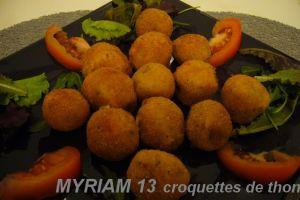 Recette Croquettes de thon