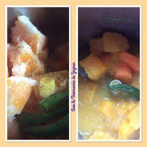 Recette Soupe de citrouille créole Thermomix ou sans
