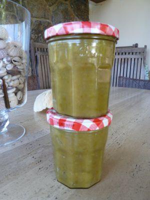 Recette Confiture d'Olives Vertes