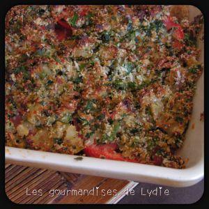 Recette Crumble aux tomates