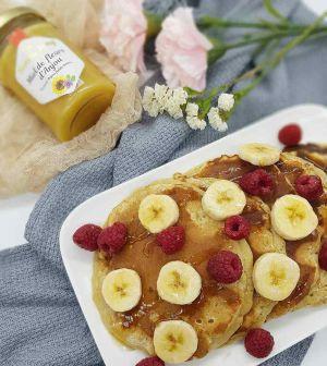 Recette Pancakes bananes et miel