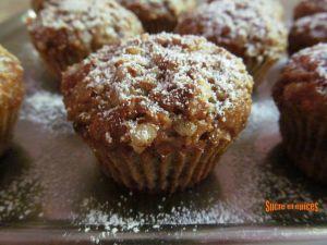 Recette Muffins à la banane et aux flocons d'avoine