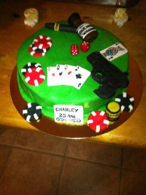 Recette Poker Cake